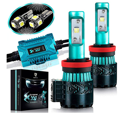 Picture of Glowteck LED Headlight Bulbs Conversion Kit