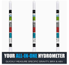 Picture of Chefast Hydrometer and Test Jar for Wine, Beer, Mead and Kombucha