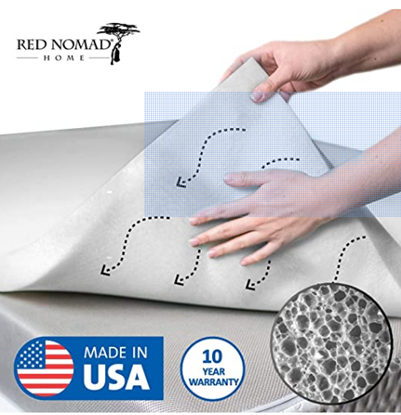 Picture of Red Nomad Memory Foam Mattress Pad 3 Inch