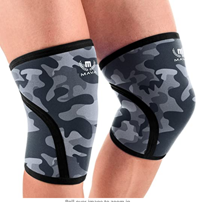 Picture of Mava Sports Pair of Knee Compression Sleeves