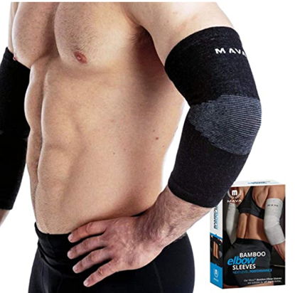 Picture of Mava Sports Elbow Sleeve Recovery Compression