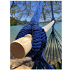 Picture of Hammock Sky Large Brazilian Hammock Chair Cotton Weave  (Blue & Green)