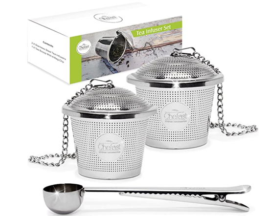 Picture of Tea Infuser Set by Chefast (Large Size)